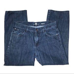"""7 For All Mankind Dark Wash """"Austyn"""" Jeans"""